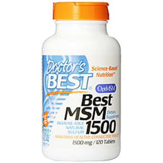 DoctorS Best Best Msm 1500 Mg - 120 Tablets