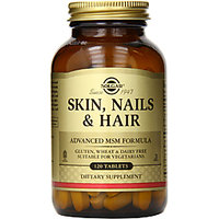 Solgar Skin Nails And Hair Advanced Msm Formula - 120 Tablets