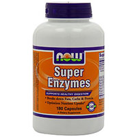 Now Foods Super Enzymes - 180 Capsules-180 Capsules