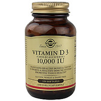 Solgar Vitamin D3 (Cholecalciferol) 10,000 Iu - 120 Softgels