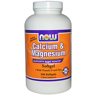 Now Foods Calcium  Magnesium - 240 Softgels