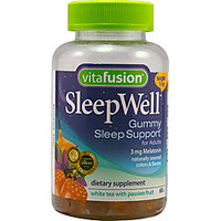 Vitafusion Sleep Well For Adults Sugar Free White Tea With Passion Fruit - 60 Gummies