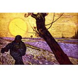 Le Semeur By Van Gogh Printed Painting