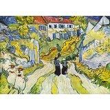 Street And Road In Auvers By Van Gogh Printed Painting