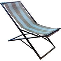 Bhagyoday Folding Chair (Plastic Stripes Diffrentr From the Image)