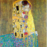 The Kiss 2 Printed Painting