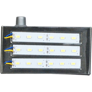 Kaka Ji 18 SMD Metal body rechargeable emergency light
