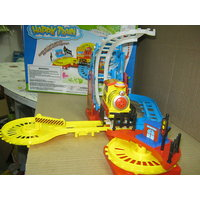 A BEAUTIFUL HAPPY TRAIN SET - CHANGE ITS TRACK - WITH SOUND - GO UP & DOWN