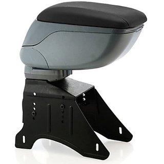 Autostark Argy-1415 Car Armrest (Grey Universal For Car Universal For Car)