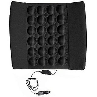 Autostark Car Seat Vibrating Cushion Massager For Fiat New Linea 2014 Vehicle Seating Pad (Pack Of 1)