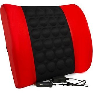 Autostark Car Seat Vibrating Cushion Massager RB For Toyota Land Cruiser Prado Vehicle Seating Pad (Pack Of 1)