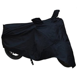 Autostark Bajaj Discover 150F Two Wheeler Cover (Black)