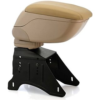 Autostark Arbe-1410 Car Armrest (Beige Universal For Car Universal For Car)