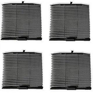 Autostark Atfbks-9050 Auto Folding Sun Shade For Universal For Car (Side Window)