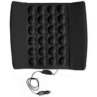 Autostark Car Seat Vibrating Cushion Massager For Mahindra Bolero Vehicle Seating Pad (Pack Of 1)