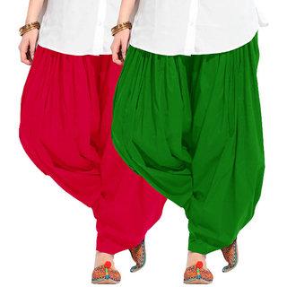 Combo - Magenta n Green Full Patiala Salwar