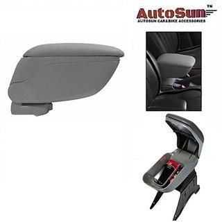 Autostark Un-01 Car Armrest (Grey Universal For Car)