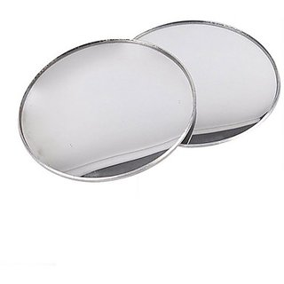 Autostark Bsm-40 Car Convex Manual Blind Spot Mirror (Exterior)