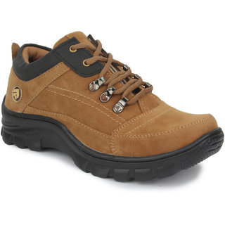 Artificial Leather Men Tan tan casual shoe