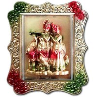 Radha Krishan / Krishana Plastic Wall Hanging, Tapasya Wall Beauty @ 199/- Only