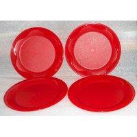 Tupperware Dessert Plates (Set Of 4)