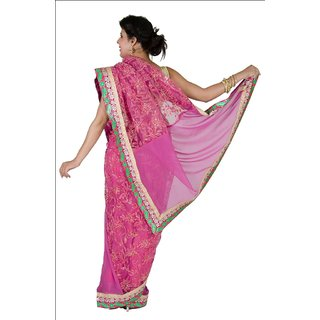 Georget Ana Nett  Saree