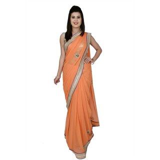 Designer  pure chiffon saree