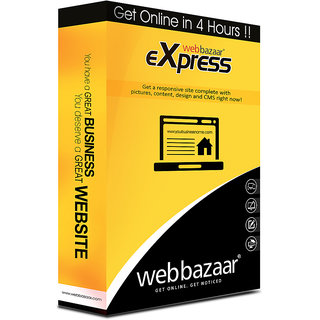 Web Bazaar Express - Website in 4 hours !
