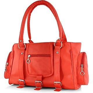 Chhaya Causal Handbag - Red