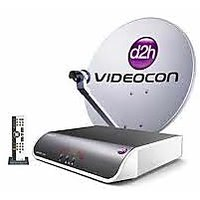 Videocon d2h HD+ Recorder Set Top Box + 1 Month South Silver pack