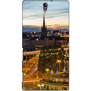 Instyler Premium Digital Printed 3D Back Cover For Sony C5 Dual 3DSONYC5DDS-10069