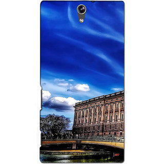 Instyler Premium Digital Printed 3D Back Cover For Sony C5 Dual 3DSONYC5DDS-10070