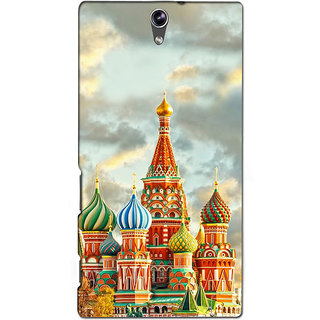 Instyler Premium Digital Printed 3D Back Cover For Sony C5 Dual 3DSONYC5DDS-10077