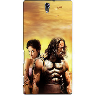 Instyler Premium Digital Printed 3D Back Cover For Sony C5 Dual 3DSONYC5DDS-10080