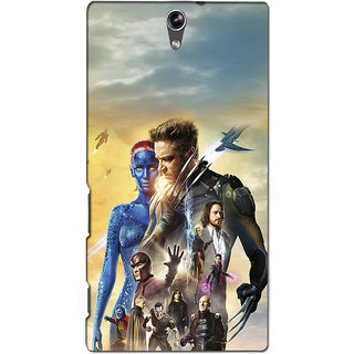 Instyler Premium Digital Printed 3D Back Cover For Sony C5 Dual 3DSONYC5DDS-10081