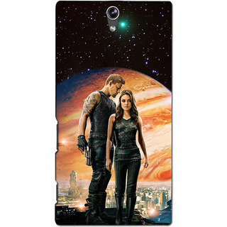 Instyler Premium Digital Printed 3D Back Cover For Sony C5 Dual 3DSONYC5DDS-10082