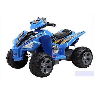 BWILD ATV Hauler blue color bike