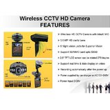 Wireless HD CCTV Camera With Inbuilt MIC