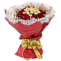 Valentine 20 Red Rose Bunch Gifts