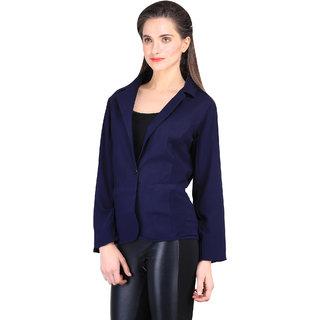 Sierra women Blue Plane slim fit blazer