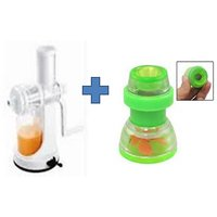Buy Ganesh Plastic Fruit & Vegetable Juicer & Get 2 Pcs Plastic Faucet Tap Free