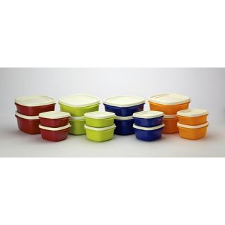 Cutting Edge Snap Tight Storage Containers Assorted Set of 16
