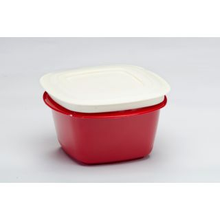 Microwaveable Veggie Fresh 1500 ml Containers Set Of 6 Red