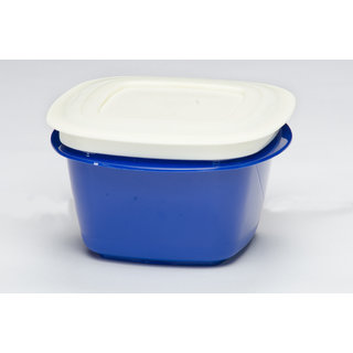 Microwaveable Veggie Fresh 1500 ml Containers Set Of 6 blue