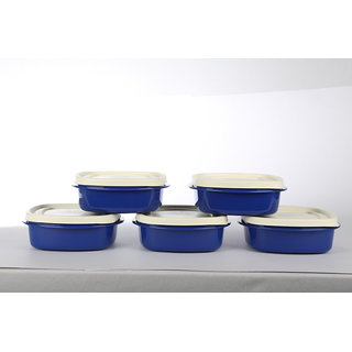 Cutting Edge Snap Tight Air Tight Storage Containers Plus Set of 2 Blue
