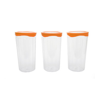 Cutting EDGE Seal n Kiss Premium Storage Canisters set of 5