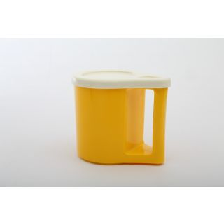 Cutting EDGE Bliss Coffee Mugs With Cover Cum Coaster Set Of 4 Golden Yellow
