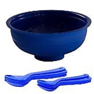 Cutting EDGE Cereal Set Of 6 Cereal Bowls And 6 Cereal Spoons