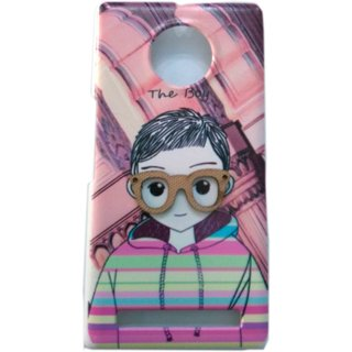 Chirag Enterprises Yuphoria Synthetic Cover Multi Color Printed Back Cover