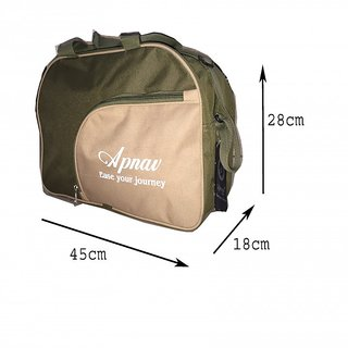 Apnav Green Gym Bag